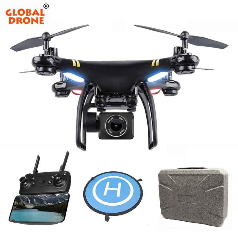 GLOBALDRONE/グローバルドローン GW168 GPSカメラ付きドローン ライブビデオHD 1080 P広角サーボジンバル、FPV、調整可能カメラ付き、フォローミー、インテリジェントオートリターントゥホーム