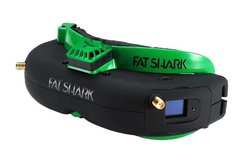 FatShark AttitudeV5 本体カラーグリーン FPVゴーグル ドローン空撮用 FSV1049