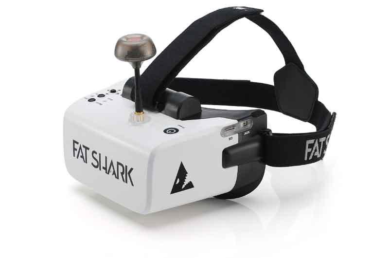 FatShark FAT SHARK SCOUT-FPV Goggles スカウトFPVゴーグル ドローン空撮用 FSV1132