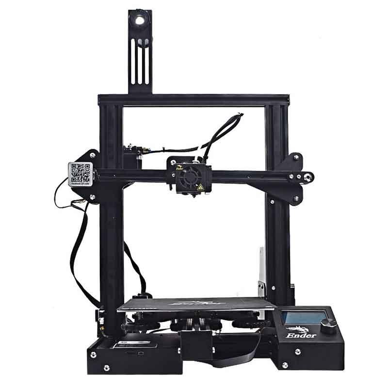 Creality3D Ender3Pro-X 3Dプリンター (ソフトマグネット付き、 ブランド電源、0.4mmノズルx5個) Creality 3D DIY プリンターキット 未組立 高精度印刷 停電回復機能 最大印刷サイズ 220 * 220 * 250mm