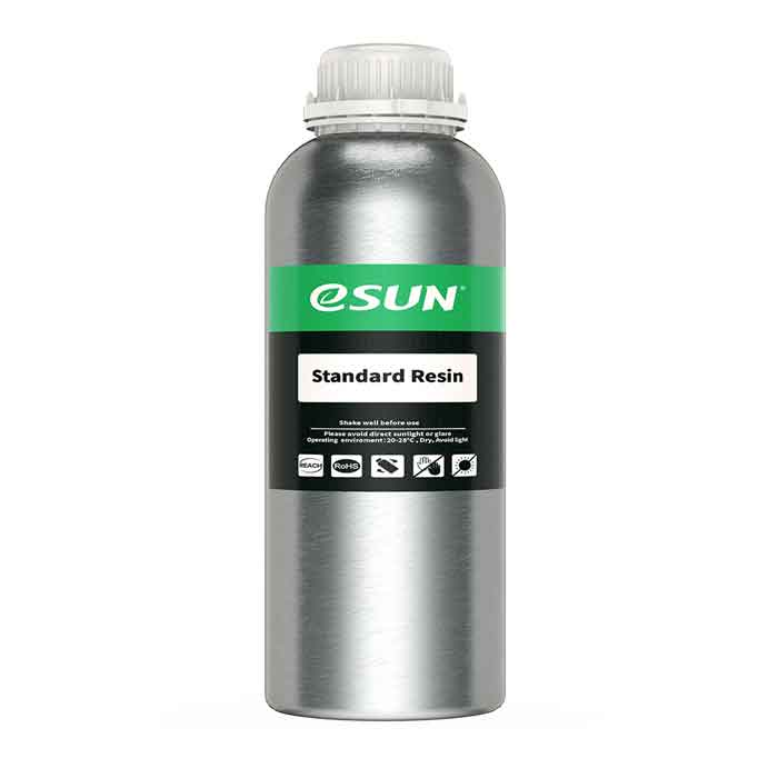 eSUN  LCD光造形 3Dプリンター(iSUN LCD3/Anycubic Photon/Wanhao D7/Sparkmaker用) UVスタンダード レジン 1Kg