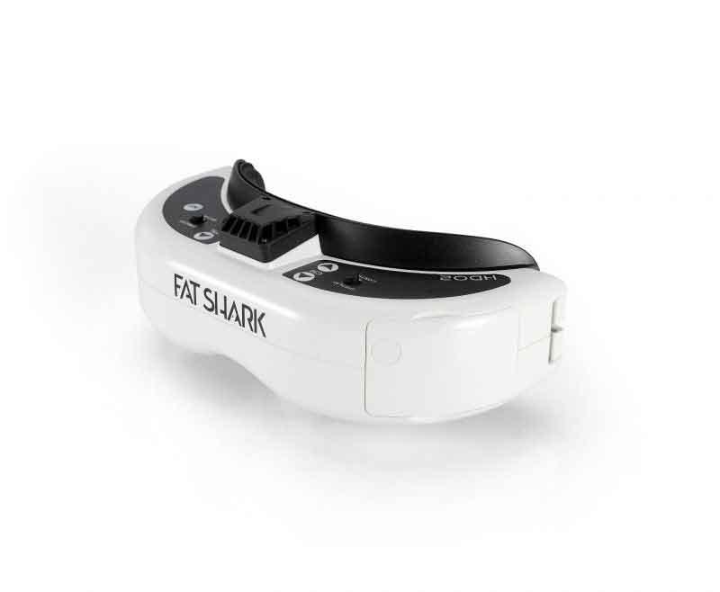 FatShark HDO2 OLED FPV Goggles  FPVゴーグル ドローン空撮用 FSV1123
