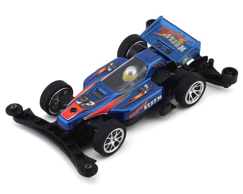 RCミニ四 Xotik エキゾティック 海外 1 メタリックブルー XC324スーパーストームRTR 32 XTK-XC324-003SS お気にいる