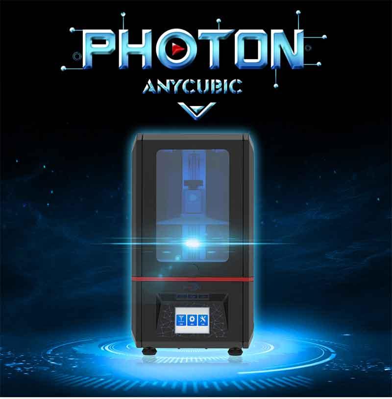 Anycubic PHOTON 光造形式 3Dプリンター(オレンジ窓/サンプルレジン無)【正規販売代理店】