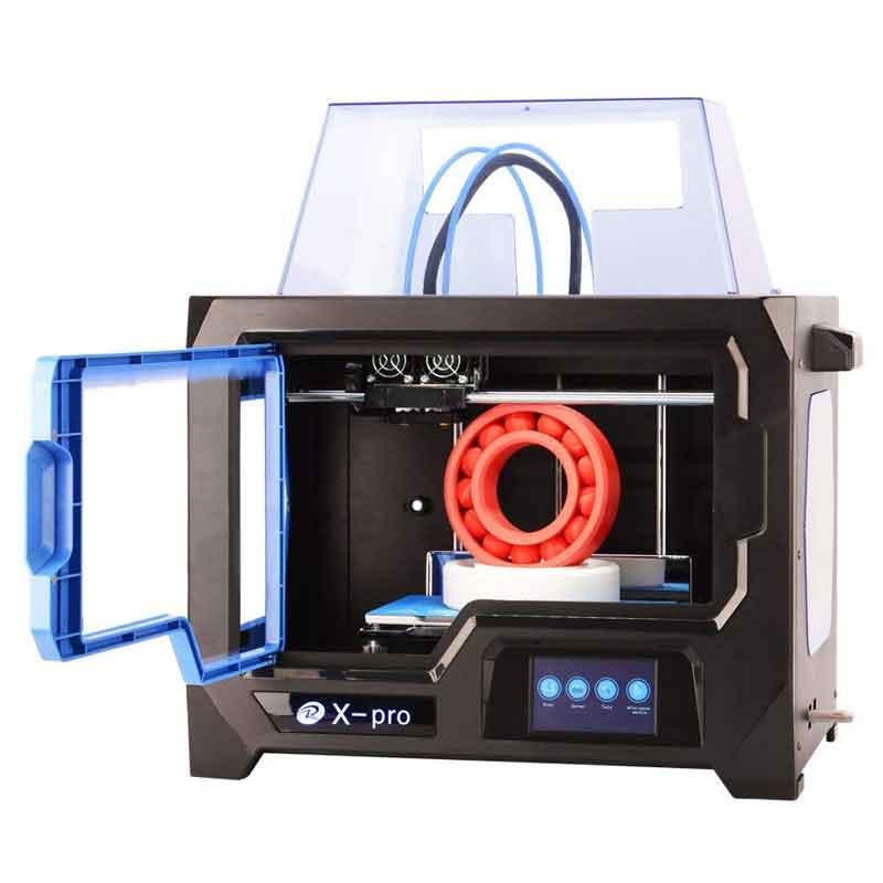 QIDI TECHNOLOGY/チーディーテクノロジー 3Dプリンター 新モデル:X-pro,デュアルエクストルーダー・4.3インチタッチスクリーン