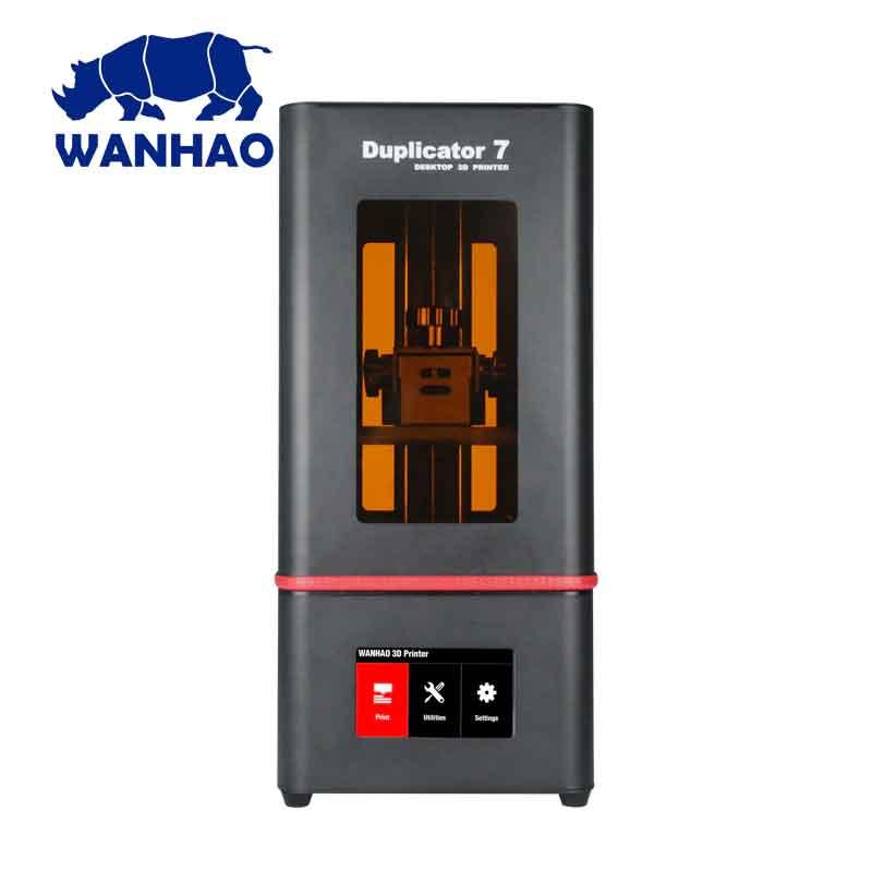 WANHAO duplicator D7 Plus 光造形式 3Dプリンター(オレンジ窓)【正規販売代理店】