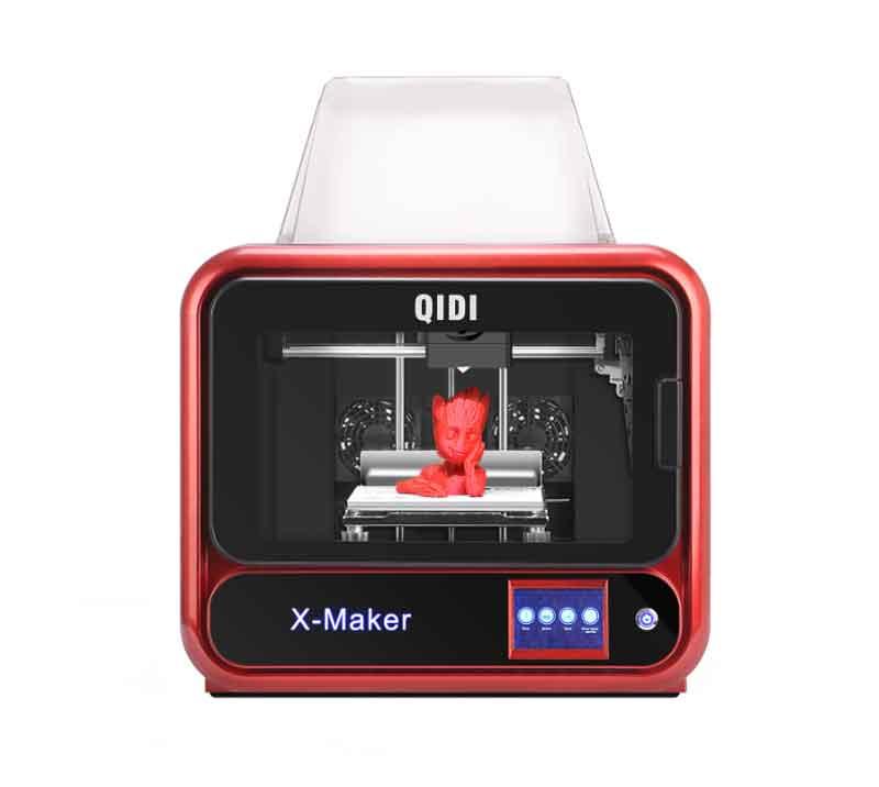 QIDI TECHNOLOGY/チーディーテクノロジー 3Dプリンター 最新モデル:X-maker完全メタル構造,3.5インチタッチスクリーン