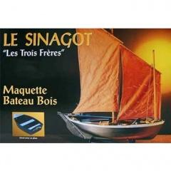 "Soclaine  リトアスフォブ""Les Trois Freres, Morbihan Fishing Boat 1943"" VA1040"