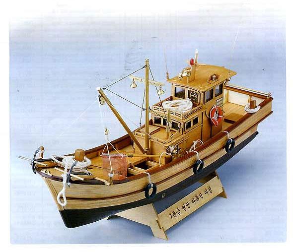 ヤン・モデル 7トン木造漁船