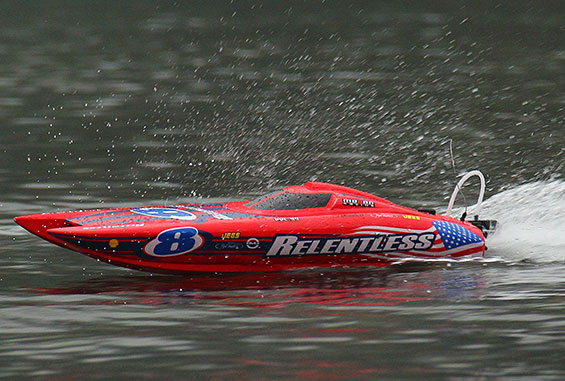 HobbyKing ARTRリベロ(Libero High Speed Racing Boat ARR w/Motor (675mm))1108 Libero