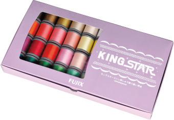 FUJIX(フジックス) キングスター 40個セット:39色+専用下糸 | キングスターミシン刺しゅう糸 刺繍糸