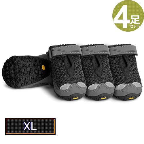※返品交換不可※ラフウェア(RUFFWEAR) グリップトレックス(4足1組) [ブラック/XL(83MM)]
