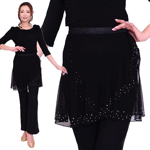 8a2a605b5978 Dance costume mesh wrapped skirt-DC15 Latin dance skirt chorus costumes, diplomatic  dance costumes ...