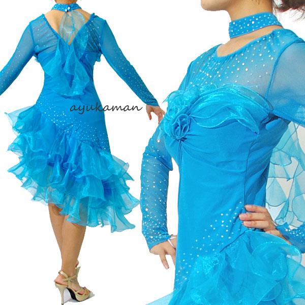 da2569b8d3b2 ... Luxury dress ballroom dance dress dance costume dress Latin dress  costume formation of ren's diplomatic dance ...
