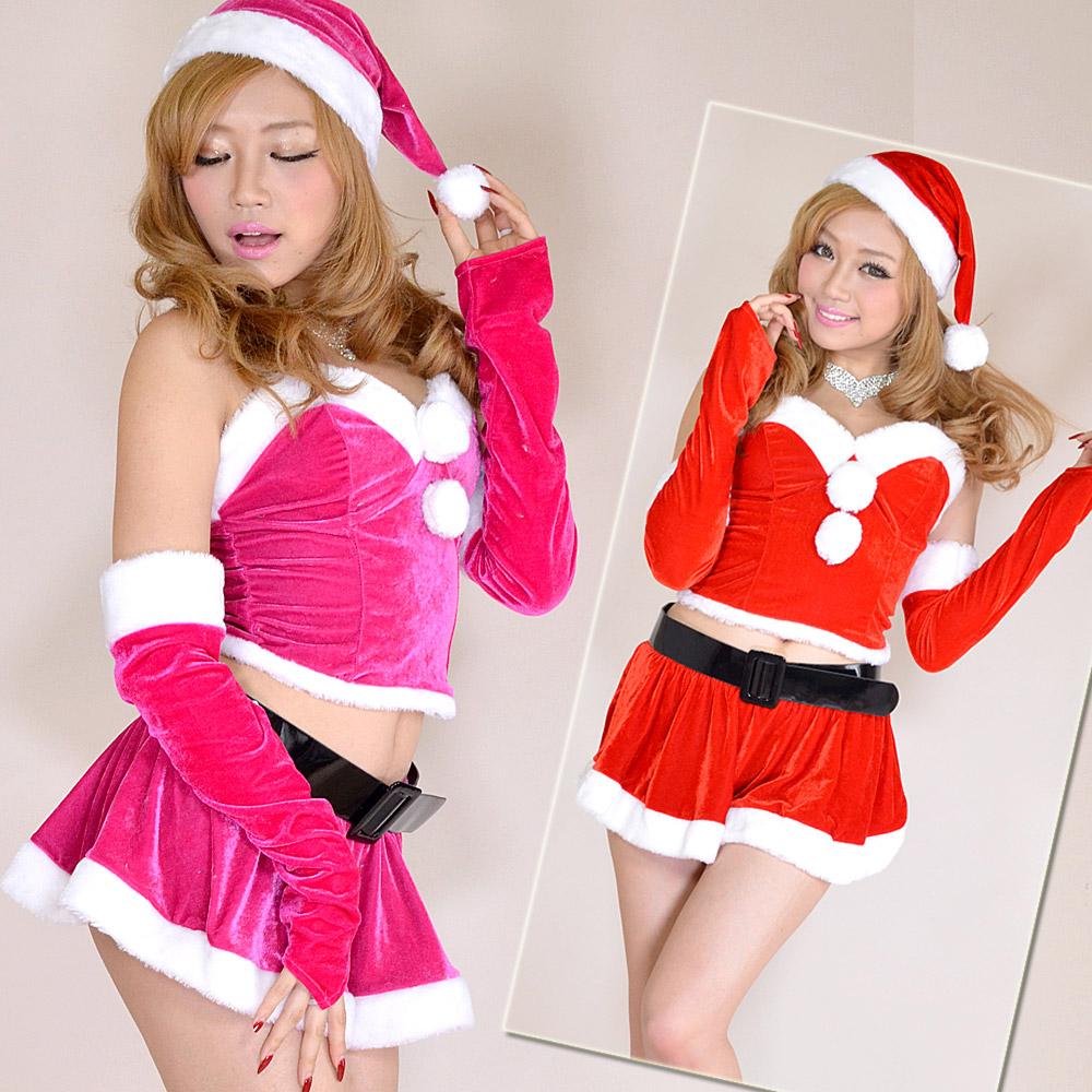 サンタ衣装 サンタコス 0906森の妖精サンタコスチューム5点セットクリスマス コスプレ サンタクロース