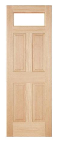 木製室内ドア -ヘムロック-/アートガラス HD-1S66