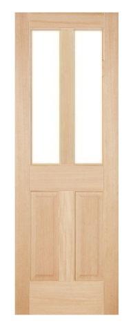 木製室内ドア -ヘムロック-/アートガラス HD-2L44