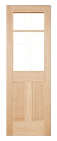 木製室内ドア -ヘムロック-/アートガラス HD-2L66