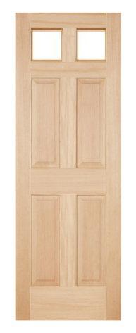 木製室内ドア -ヘムロック-/アートガラス HD-2S66