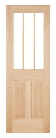 木製室内ドア -ヘムロック-/アートガラス HD-3L44