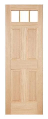 木製室内ドア -ヘムロック-/アートガラス HD-3S66