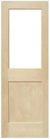 木製室内ドア -ヘムロック-/アートガラス HM-1L22