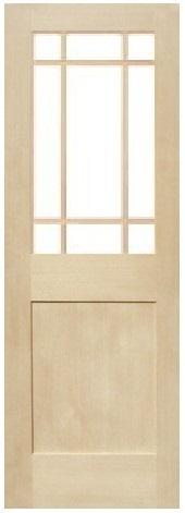 木製室内ドア -ヘムロック-/アートガラス HM-9SL22