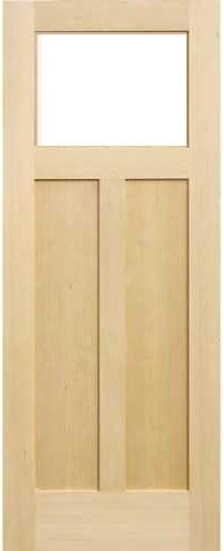 木製室内ドア -ヘムロック-/アートガラス HS-1M760
