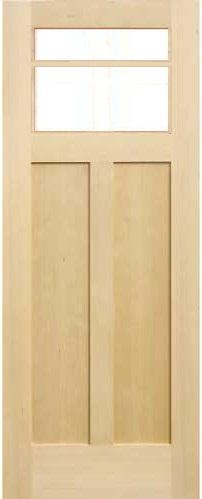 木製室内ドア -ヘムロック-/アートガラス HS-2M760