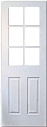 木製室内ドア -HDF-/アートガラス CD-6L66