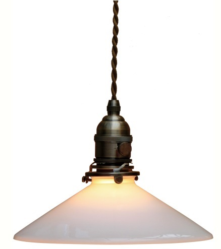 ペンダントランプ シェード&灯具セット lights_p_fc-15AP013