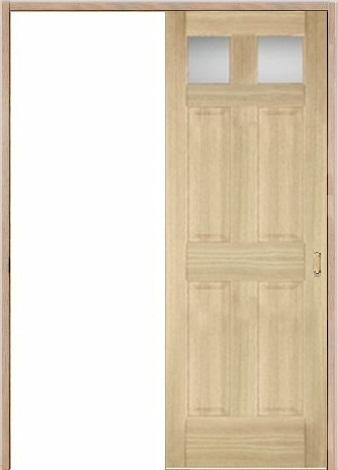 木製室内ドア 引き戸枠セット-アッシュ- SL-AD-266