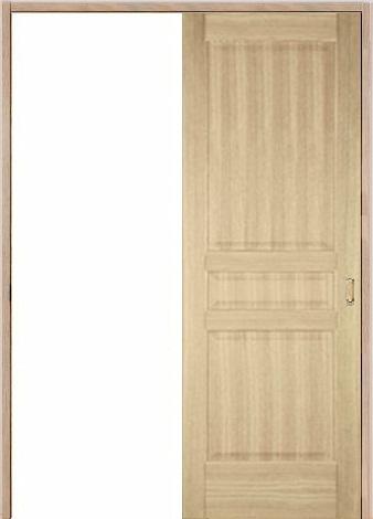 木製室内ドア 引き戸枠セット-アッシュ- SL-AD-33