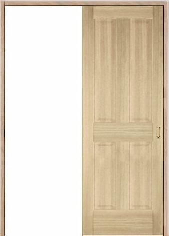 木製室内ドア 引き戸枠セット-アッシュ- SL-AD-44