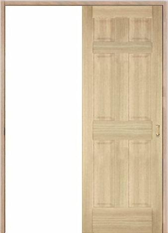 木製室内ドア 引き戸枠セット-アッシュ- SL-AD-66