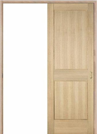木製室内ドア 引き戸枠セット-アッシュ- SL-AM-22