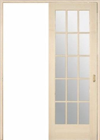 木製室内ドア 引き戸枠セット-バーチ- SL-BM-1515