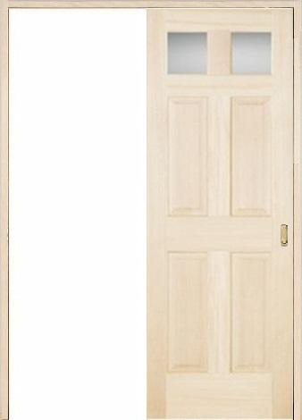 木製室内ドア 引き戸枠セット-バーチ- SL-BD-266