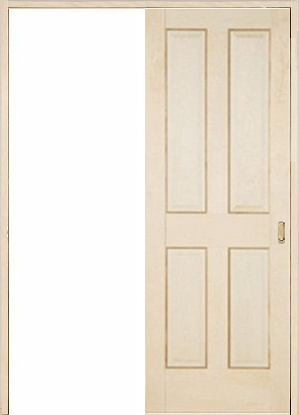 木製室内ドア 引き戸枠セット-バーチ- SL-BD-44