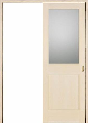 木製室内ドア 引き戸枠セット-バーチ- SL-BM-1L22