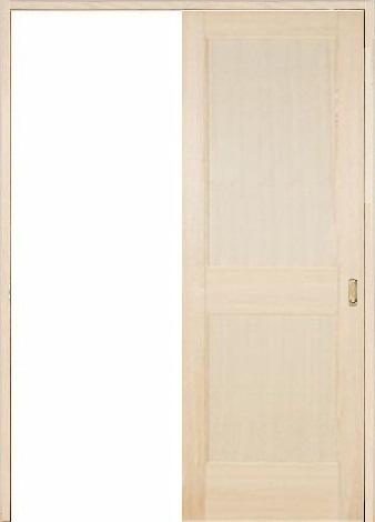 木製室内ドア 引き戸枠セット-バーチ- SL-BM-22