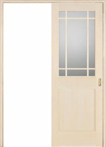 木製室内ドア 引き戸枠セット-バーチ- SL-BM-9SL22