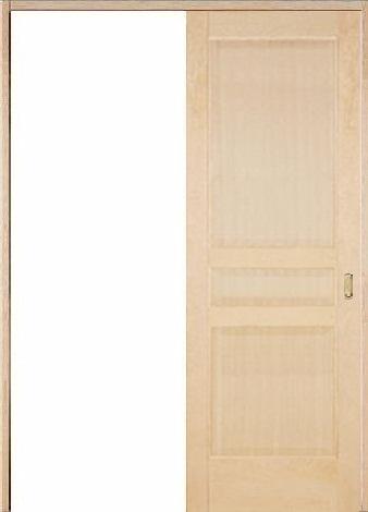 木製室内ドア 引き戸枠セット-ヘムロック- SL-HD-33
