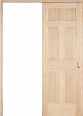 木製室内ドア 引き戸枠セット-ヘムロック- SL-HD-66