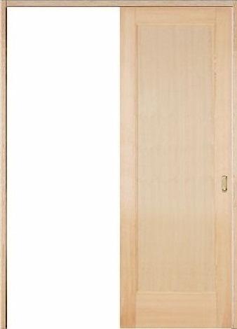 木製室内ドア 引き戸枠セット-ヘムロック- SL-HM-11
