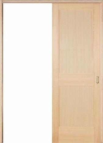木製室内ドア 引き戸枠セット-ヘムロック- SL-HM-22
