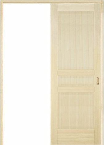 木製室内ドア 引き戸枠セット-パイン- SL-PD-33