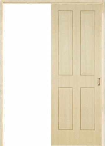 木製室内ドア 引き戸枠セット-パイン- SL-PD-44