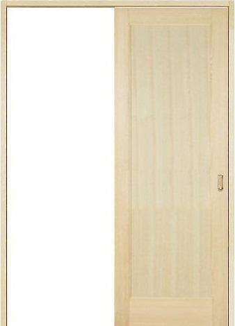 木製室内ドア 引き戸枠セット-パイン- SL-PM-11