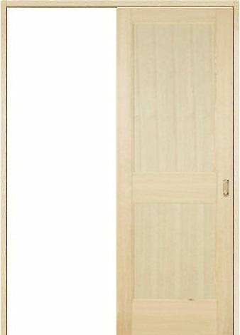 木製室内ドア 引き戸枠セット-パイン- SL-PM-22